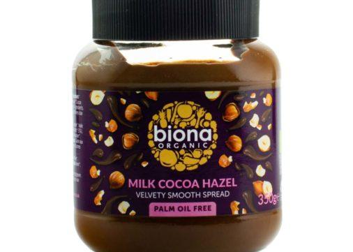 dark and organic hazelnut cocoa