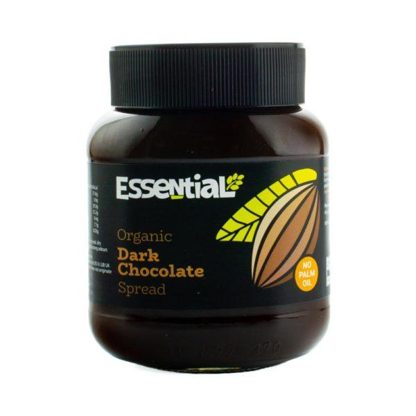 dark and organic cocoa