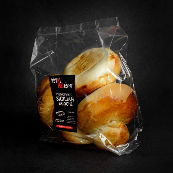 Pack of Sicilian Brioche Bun (4)