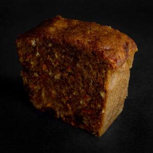 Carrot Cake Loaf Slice